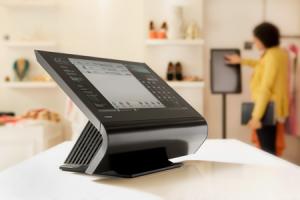 New generation point of sale terminals (Toshiba in Calvin Klein)