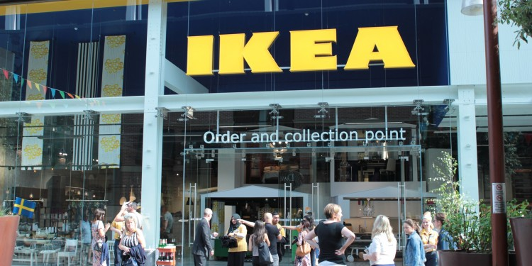 Ikea's new smaller-format store  at  Westfield Stratford City