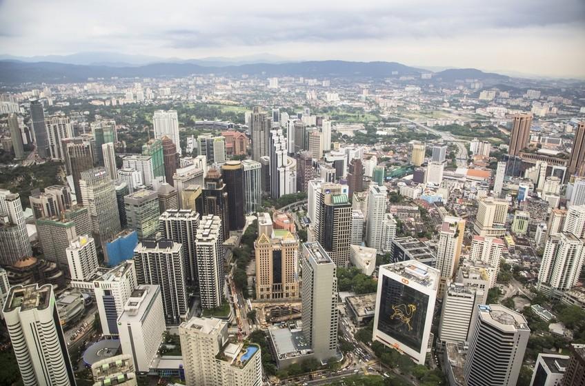 Kuala Lumpur business district