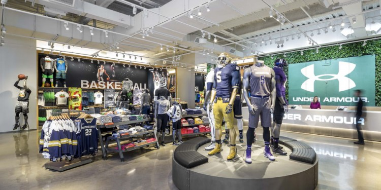 Under Armour Chicago Brand House