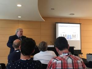 Ivo Güell durante su presentación